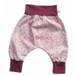 Sarouel Elénie évolutif bébé enfant en coton Oeko-Tex