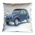 Cushion cover Blue 2CV Citroën