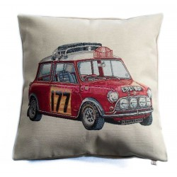 Cushion cover Mini Cooper Rallye Monté-Carlo
