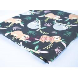 Coupon de tissu 50x48 cm 100% coton Lazare Vintage