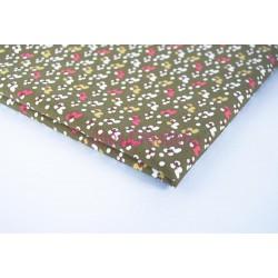Coupon de tissu 50x48 cm 100% coton Fiduo Tilleul