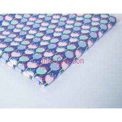 Coupon de tissu 50x48 cm 100% coton Flozio Pink