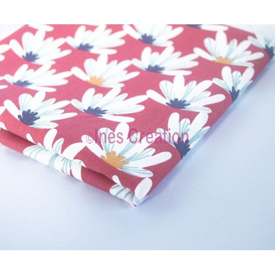Coupon de tissu 50x48 cm 100% coton Myriel Purple
