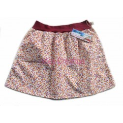 Skirt child Sarina Orange for 4 to 10 years