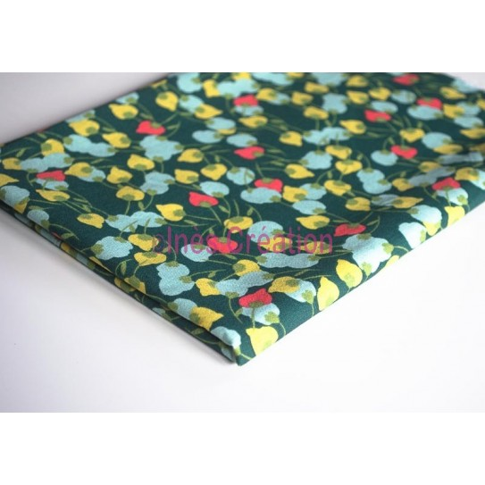 "Fat Quarters 20"" x 19,2"" pure cotton Kisnek green"