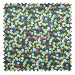Cotton fabric sold by metre Edbird Kisnek Green Oeko-tex