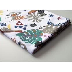 Coupon de tissu Payadi blanc 50x48 cm 100% coton