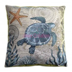 Cushion cover turtle