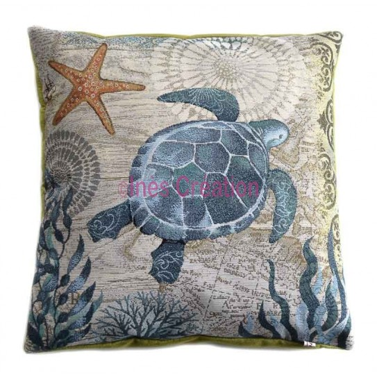 Cushion cover turtle