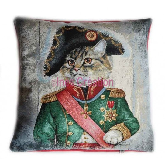 Cushion cover Military Cat