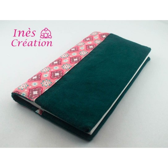 Carry reversible checkbook