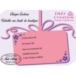 E-Carte Cadeau 10€