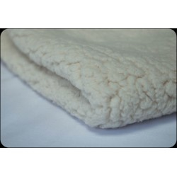 Fabric Coupon doublure Sherpa 50x50 cm imitation mouton