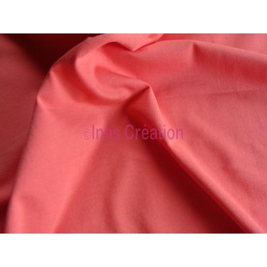 Coupon Jersey Interlock Uni 100% Coton Bio