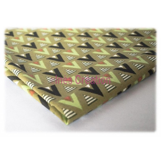 Coupon de tissu 50x50 cm 100% coton Saguaro