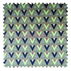 Tissu en coton vendu au mètre Saguaro Olive Oeko-tex