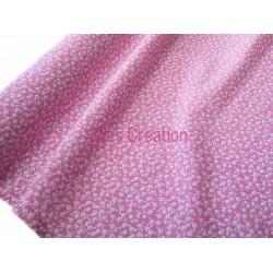 Tissu en coton vendu au mètre Imelda Rose Oeko-tex
